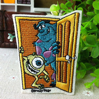 Monsters Inc iron on patch 001 by happysupply on Etsy
