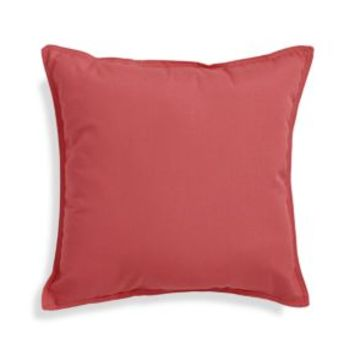 "Sunbrella ® Rose 20"" Sq. Outdoor Pillow"