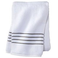 Fieldcrest® Luxury Stripe Accent Bath Towels : Target