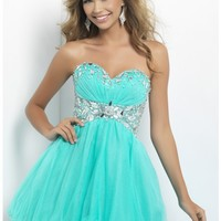 Blush by Alexia 9679 Aquamarine Dress $259: Homecoming, Prom and Cocktail