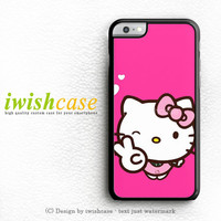 Hello Kitty Girl iPhone 6 Case iPhone 6 Plus Case Cover