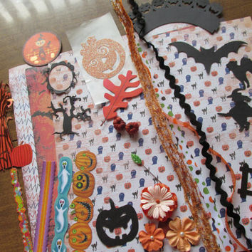 Halloween Scrapbook kit