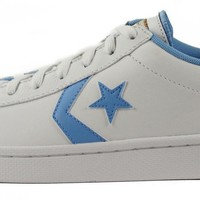 converse for men chuck taylor pro leather ox white sneakers