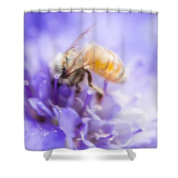Bee Dream Shower Curtain