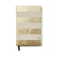 kate spade new york 12-Month Agenda, Gold Stripe | Bloomingdales's
