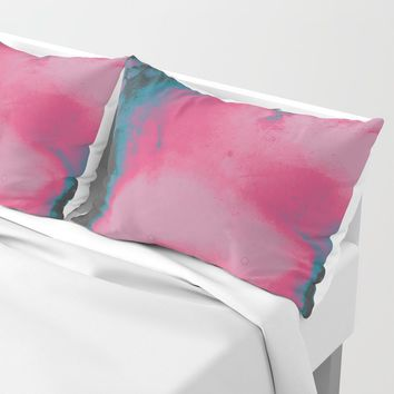 Disco Candy Pillow Sham by duckyb