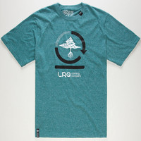 Lrg Core Collection Three Mens T-Shirt Teal Blue  In Sizes