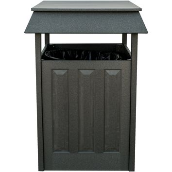 Wildridge Heritage Outdoor Trash Can  - Ships in 10-14 Business Days