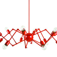 Double Octopus Suspension Lamp by Autoban
