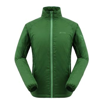 GRAIL Men Outdoor Windstop Packable Ultralight Jacket for Camping Hiking 3M Thinsulate Padding MD018