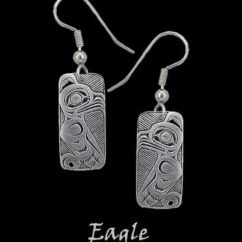 Eagle Earrings in Pewter by Frederick Design (Style #SH205)