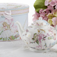 Fairy Porcelain Teapot in Gift Box
