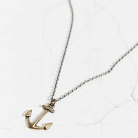 We Are All Smith Bronze Anchor Necklace- Bronze One
