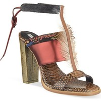 DRIES VAN NOTEN - Siamese heeled mules | Selfridges.com