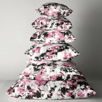 'Untitled' Throw Pillow by Christy Leigh