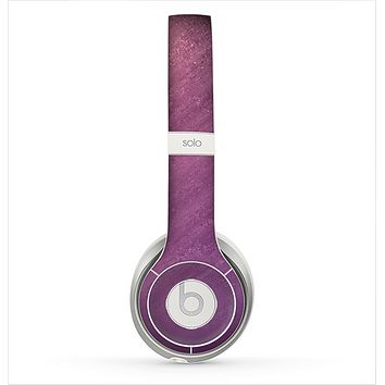 The Purple Dust Skin for the Beats by Dre Solo 2 Headphones