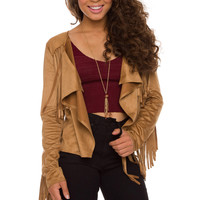 Fly Me Away Fringe Jacket