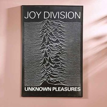 Joy Division Unknown Pleasures Poster