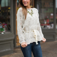 All About Love Sweater, Taupe