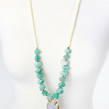The Natalie Necklace - Turquoise
