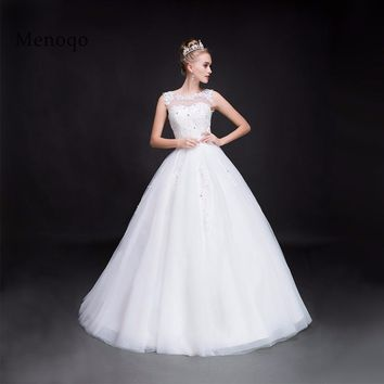 Ball gown Wedding dresses Luxurious Tulle Wedding gown Custom made Lace up back