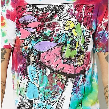 Hookah Alice In Wonderland T Shirt - Spencer's