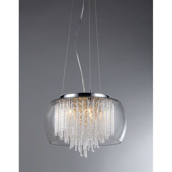 Odysseus 5-Light Crystal Chandelier
