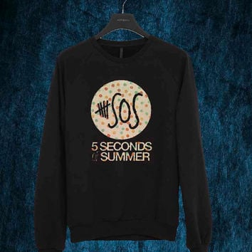 5SOS art sweater Sweatshirt Crewneck Men or Women Unisex Size