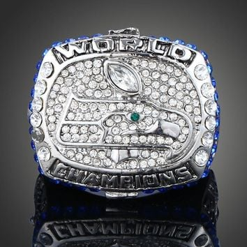 "SPORTS RING * 2013 SEATTLE ""SEAHAWKS"" SUPER BOWL * CHAMPIONS/...fast delivery!"