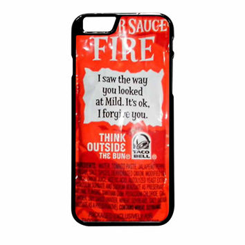Taco Bell Sauce Fire Cover iPhone 6 Plus Case