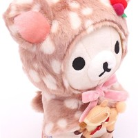 deer Rilakkuma white bear plush toy by San-X - Plush Toys - Stationery