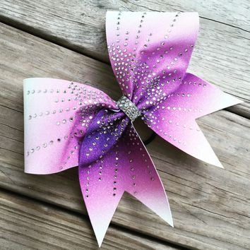 Ombre bow with starburst effect rhineatones