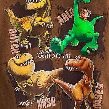 Licensed cool The Good Dinosaur Character Boys Tee T SHIRT Disney Store Arlo Butch Nash Ramsey