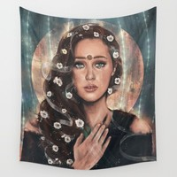 May We Meet Again Wall Tapestry by Monika Gross