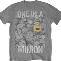 Despicable Me 2 - One in a Minion T-Shirt Size XXL