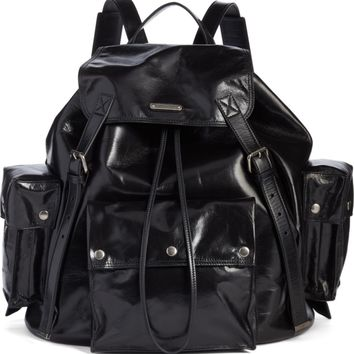 Saint Laurent Noe Polished Vintage Leather Backpack | Nordstrom