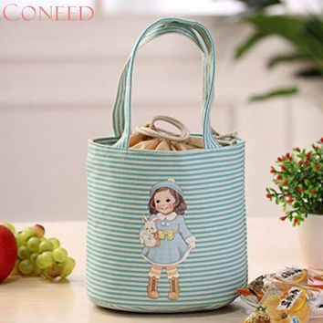 CONEED Fashion Cooler Bags Thermal Insulated Box Tote Cooler Bag Bento Pouch Lunch Storage Case Juy10 Y15x