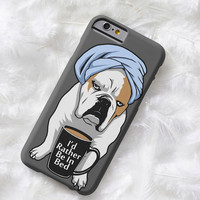 Lightweight iPhone case- English Bulldog puppy, iPhone 5, 5s, 6 or 6 Plus, cell phone case