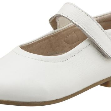 Old Soles Girl's Brule Sista White Leather Mary Janes