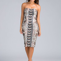 Razzle Dazzle Sequin Midi Dress