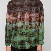 Urban Renewal Ombre-Dye Flannel Shirt - Urban Outfitters