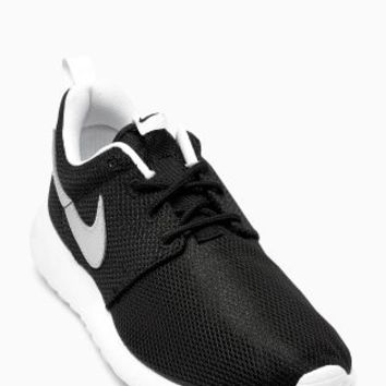 Buy Nike Black/Silver Roshe One from the Next UK online shop