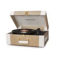 Crosley Radio 'Keepsake' Portable USB Turntable - Metallic