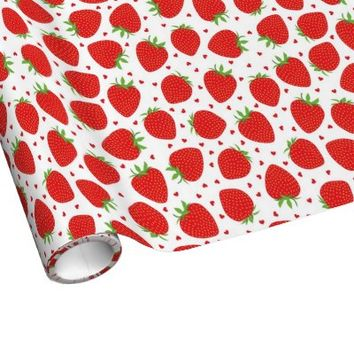 Strawberry Love - Sweet Wrapping Paper