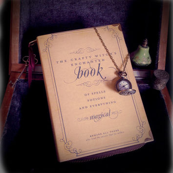 Halloween Spells and Potions Witch Craft Book Clutch