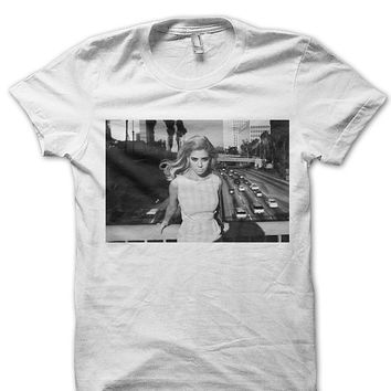 Marina and the Diamonds Shirt Tshirt Tee T Shirt - Marina & The Diamonds - Marina Diamandis Oversize Hipster Shirt MARINA ON BRIDGE- FAN0014