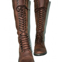 ROC Boots Distressed Fleet Boots | Dolls Kill