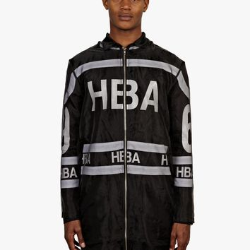 Hood by Air Men's Black Organza Hockey Jacket