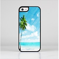 The Paradise Beach Palm Tree Skin-Sert Case for the Apple iPhone 5c