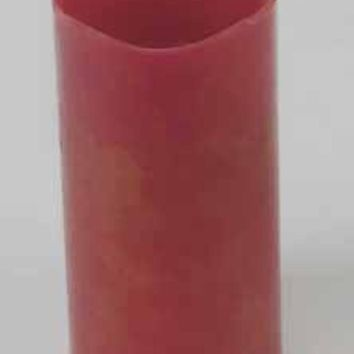 "6"" Red Battery Operated Flameless LED Lighted Wax Christmas Pillar Candle"